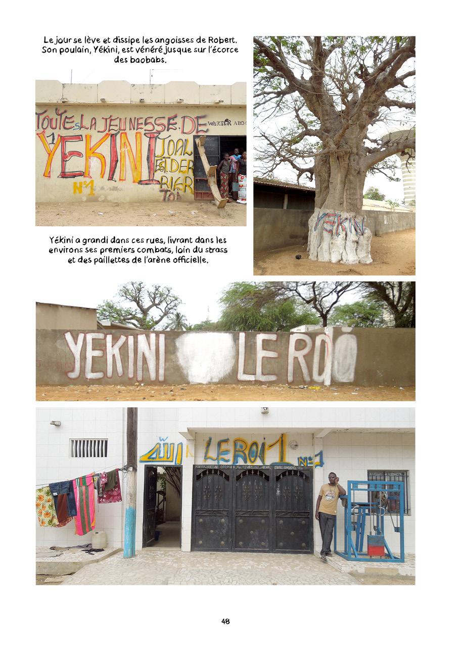 Yekini, le roi desarènes