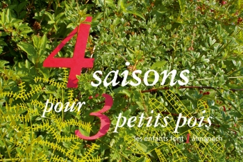 4 saisons pour 3 petitspois