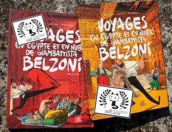 Les Voyages de Belzoni t.2 en sélection officielle pour Angoulême