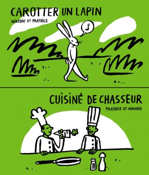 Carotter un lapin / Cuisiné dechasseur