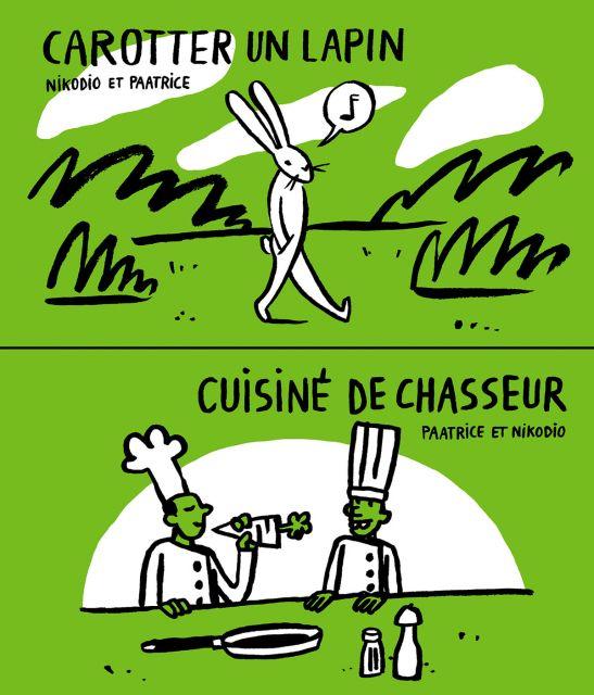 Carotter un lapin / Cuisiné de chasseur