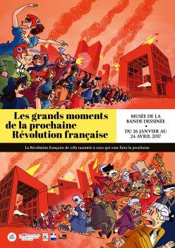 Exposition « Les grands moments de la prochaine révolution française » au FIBDd'Angoulême