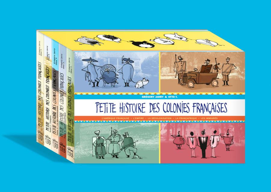 Coffret: Petite histoire des colonies françaises