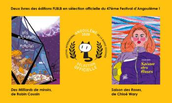 FLBLB au FIBD d'Angoulême 2020: 2 livres en compétition et une exposition Belzoni!