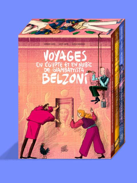 Coffret: Voyages en Égypte et en Nubie de Giambattista Belzoni