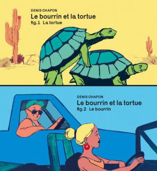Le bourrin et la tortue