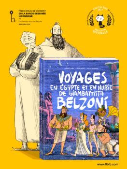 Voyages de Belzoni tome 3 en sélection officielle du FIBD 2021!