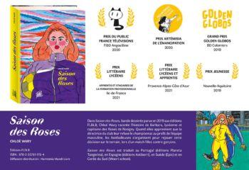 Deux prix lycéens pour Saison des Roses, de Chloé Wary